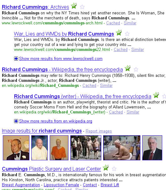 richard cummings google rank