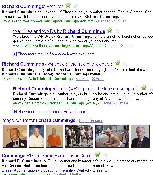 richard cummings google rank