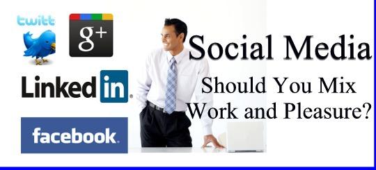 Work Business Social Media Account